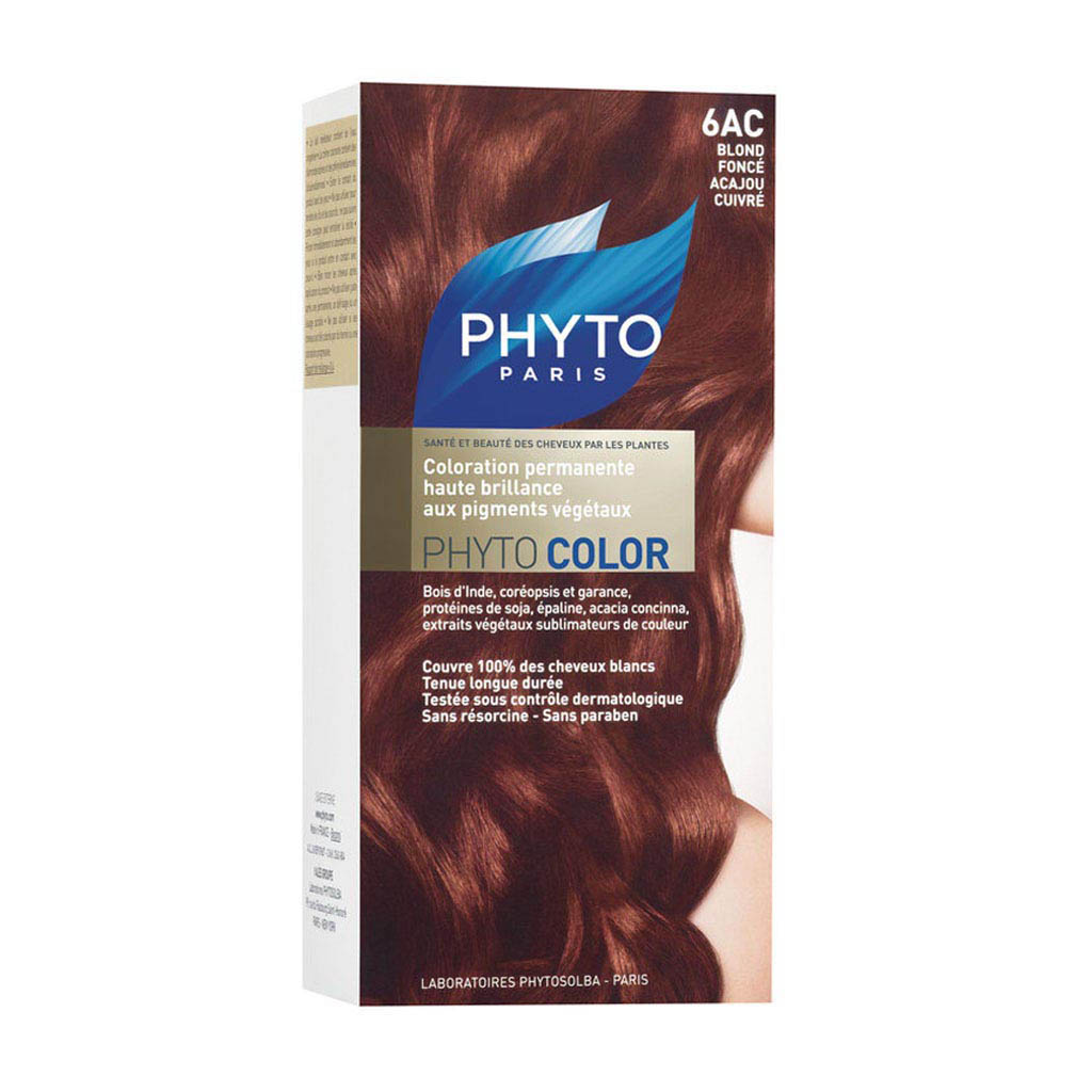 Phyto Phytocolor 6AC Dark Coppery Mahogany Blond