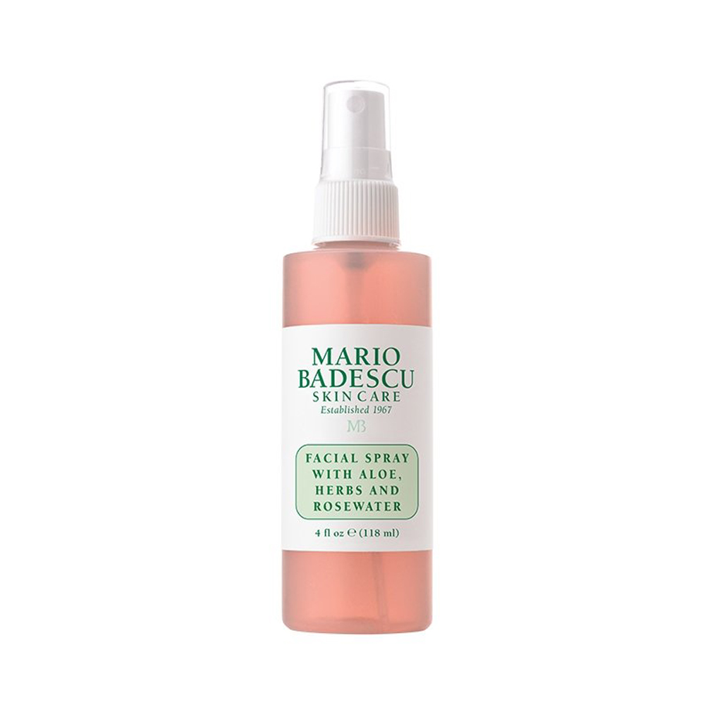 Facial Spray with Aloe & Rose