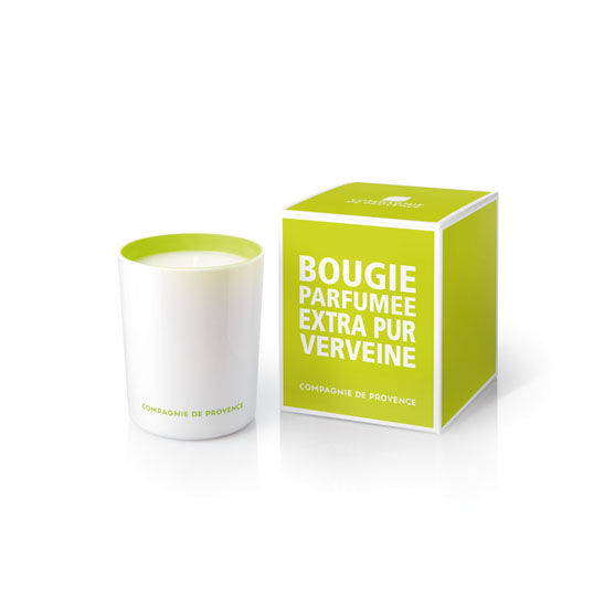 Compagnie De Provence Extra Pur Scented Candle Fresh Verbena