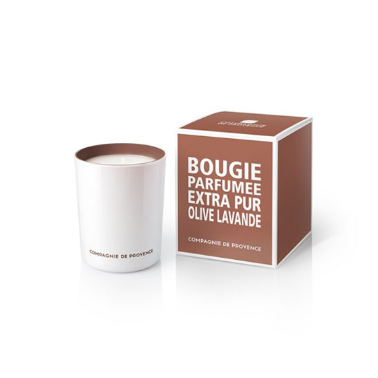 Compagnie de Provence Extra Pur Candle Olive & Lavender