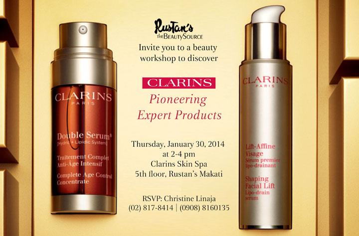 Clarins Pioneering Expert Invite 2 revised6