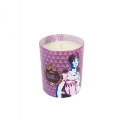 Historiae Violette Imperiale Pop Art Bougie Parfumée