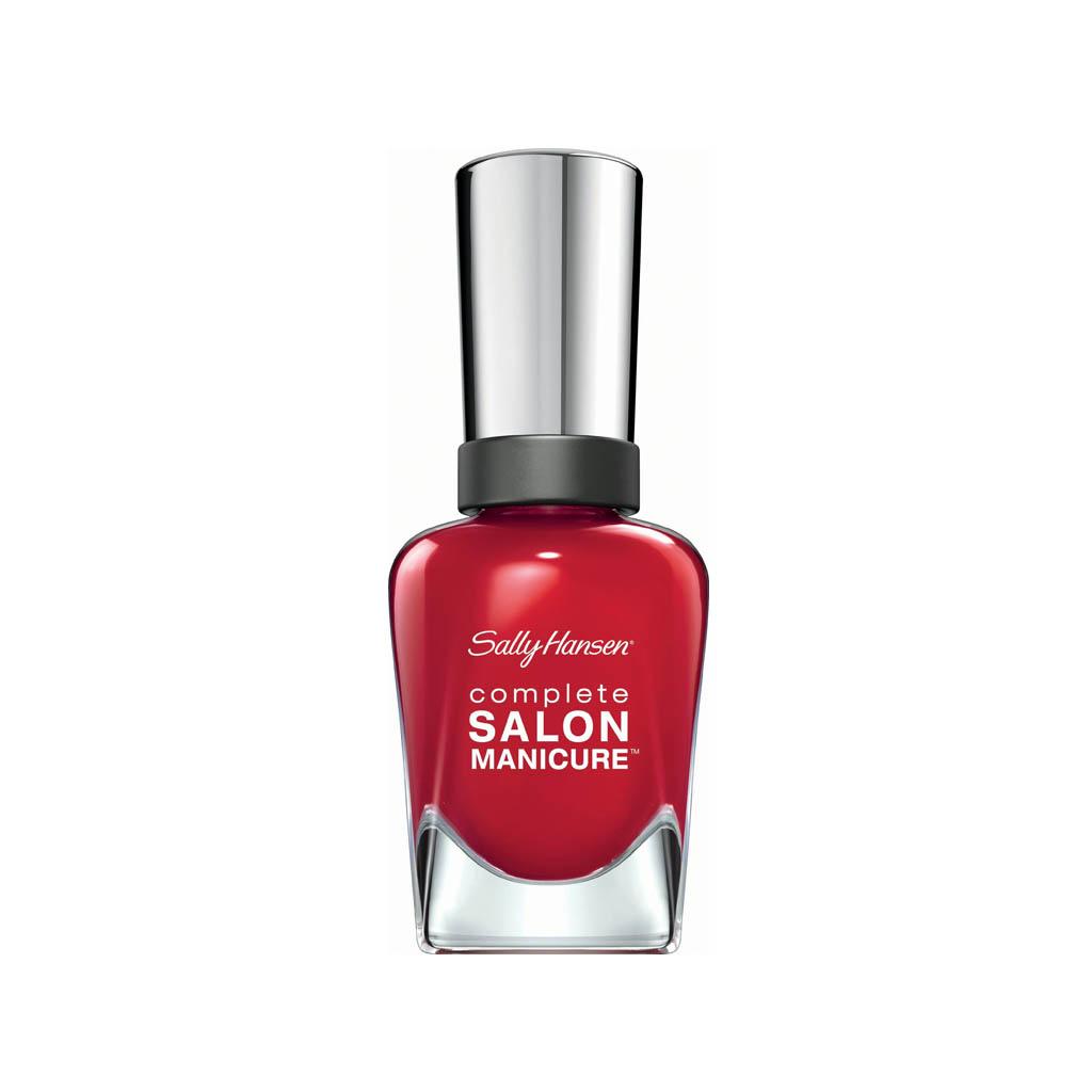Sally Hansen Complete Salon Right Said Red
