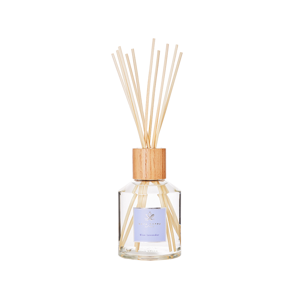 Blue Lavender Home Diffuser With Sticks