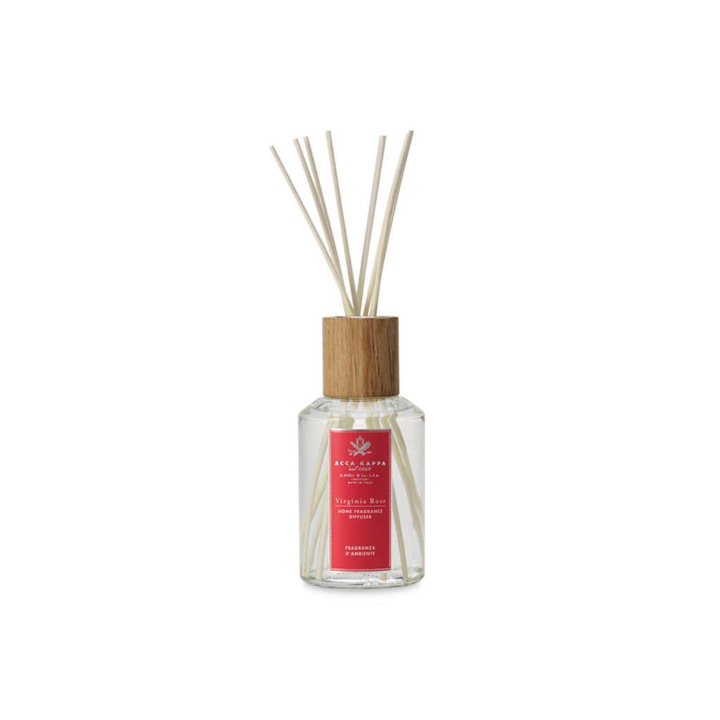 Acca Kappa Virginia Rose Home Diffuser With Sticks