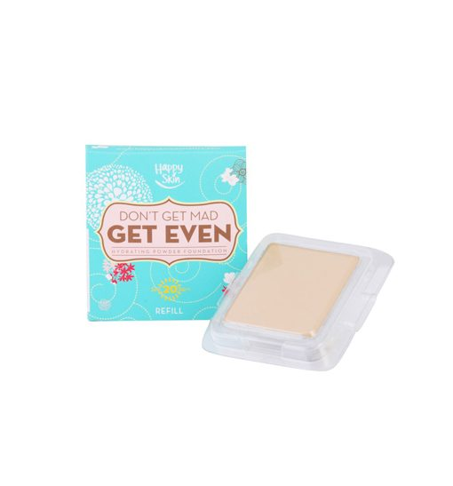Happy Skin Don't Get Mad, Get Even Hydrating Powder Foundation Refill