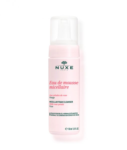 Micellar Foaming Cleanser with Rose Petals