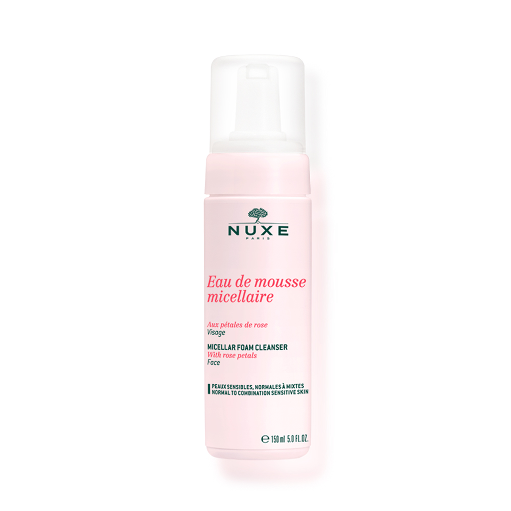 Nuxe Micellar Foam Cleanser with Rose Petals