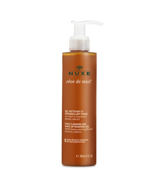 Nuxe Reve de Miel Face Cleansing and Makeup Removing Gel