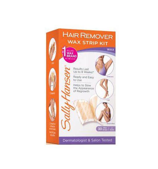 Sally Hansen Hair Remover Wax Strip Kit Body