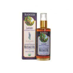 Badger Aromatic Massage Oil Lavender