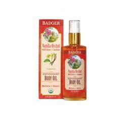 Badger Body Oil Antioxidant Vanilla Orchid