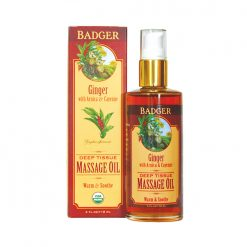 Badger Ginger Massage Oil