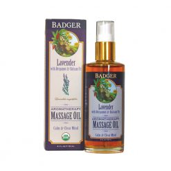 Badger Lavender Massage Oil