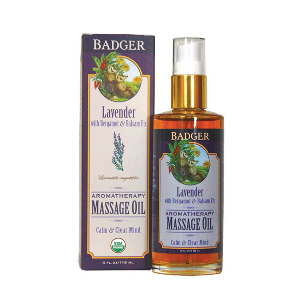 Badger Lavender Massage Oil