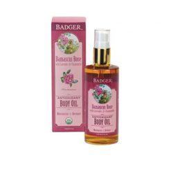 Badger Rose Antioxidant Body Oil