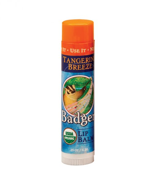 Badger Tangerine Breeze Lip Balm Stick