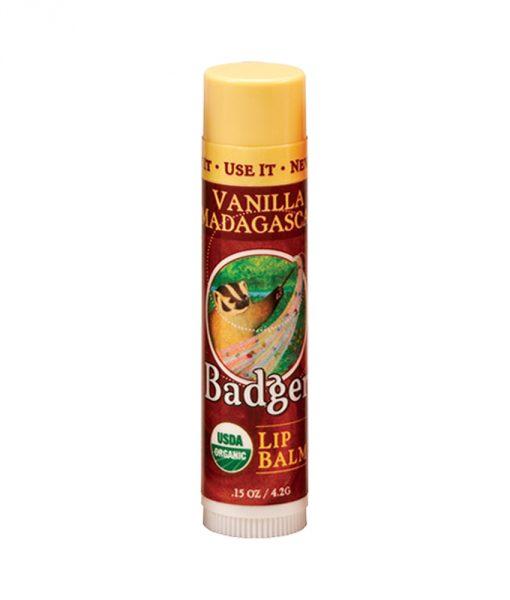 Badger Vanilla Lip Balm Stick