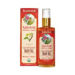 Badger Vanilla Orchid Body Oil
