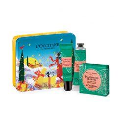 L'occitane Pamplemousse Rhubarbe Gift Set