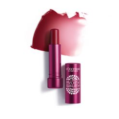 L'Occitane Peony Tinted Lip Balm Rose Plum