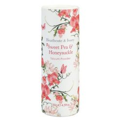 Heathcote & Ivory Sweet Pea & Honeysuckle Talcum Powder 130g