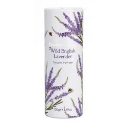 Heathcote & Ivory Wild English Lavender Talcum Powder 130g