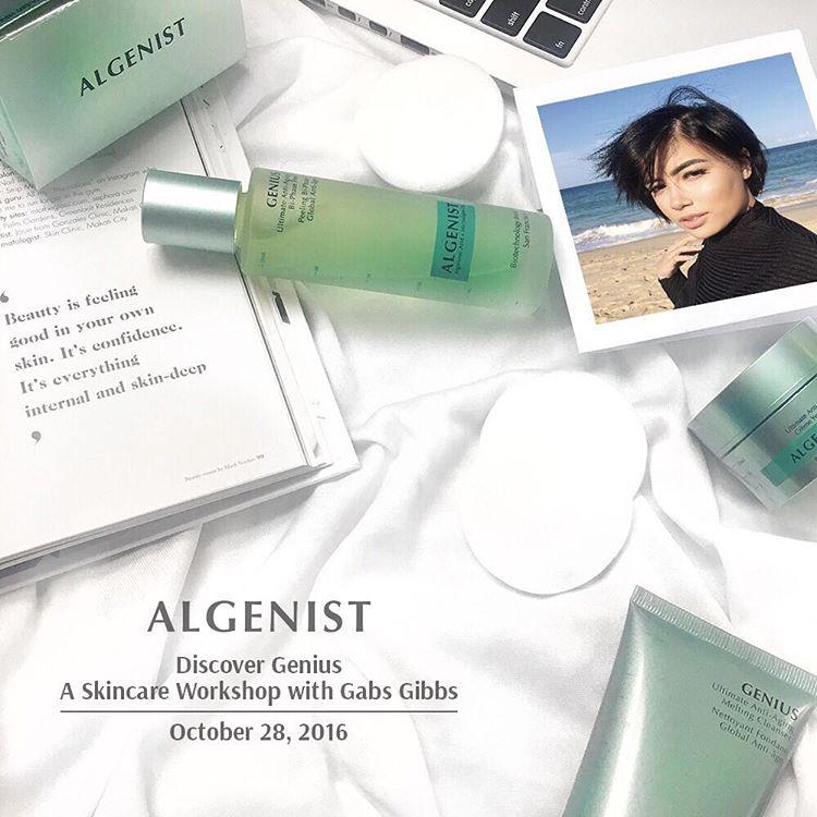 Algenist Skin Care Workshop