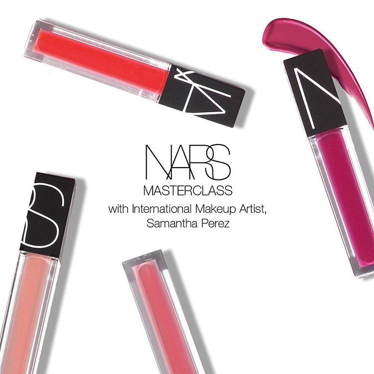 NARS Masterclass with Samantha Perez