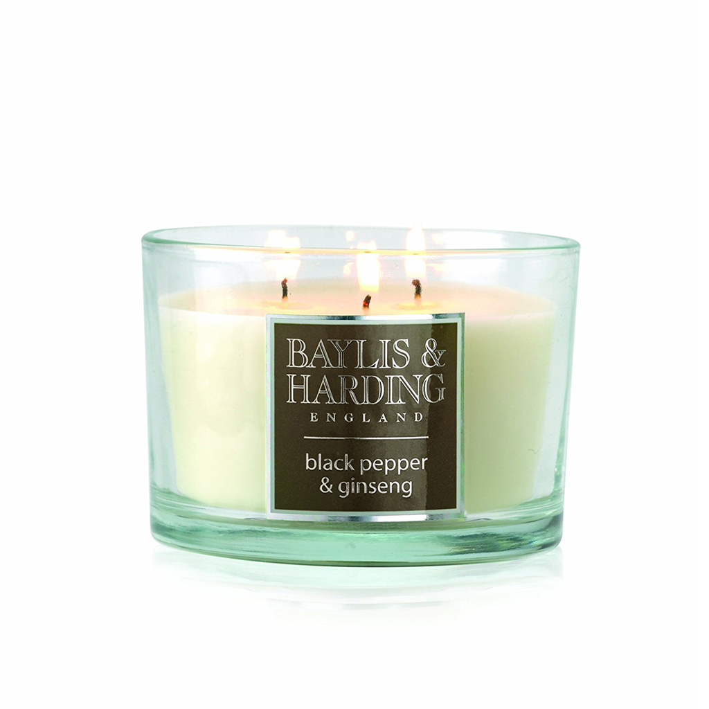 Black Pepper & Ginseng 3 Wick Candle