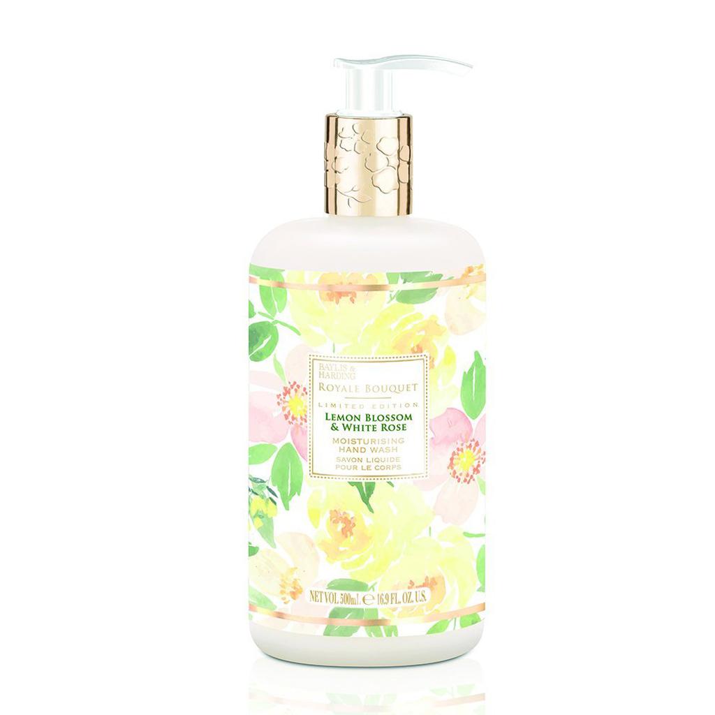 Royale Bouquet Lemon Blossom & White Rose Hand Wash