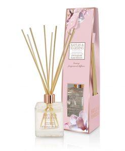 Baylis & Harding Pink Magnolia & Pear Blossom Diffuser Set