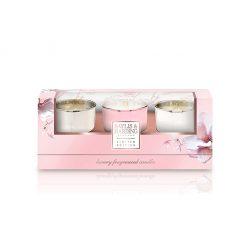 Baylis & Harding Pink Magnolia & Pear Blossom Trio Set