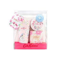 Cath Kidston Blossom Birds White Clover& Matcha Tea Manicure To Go