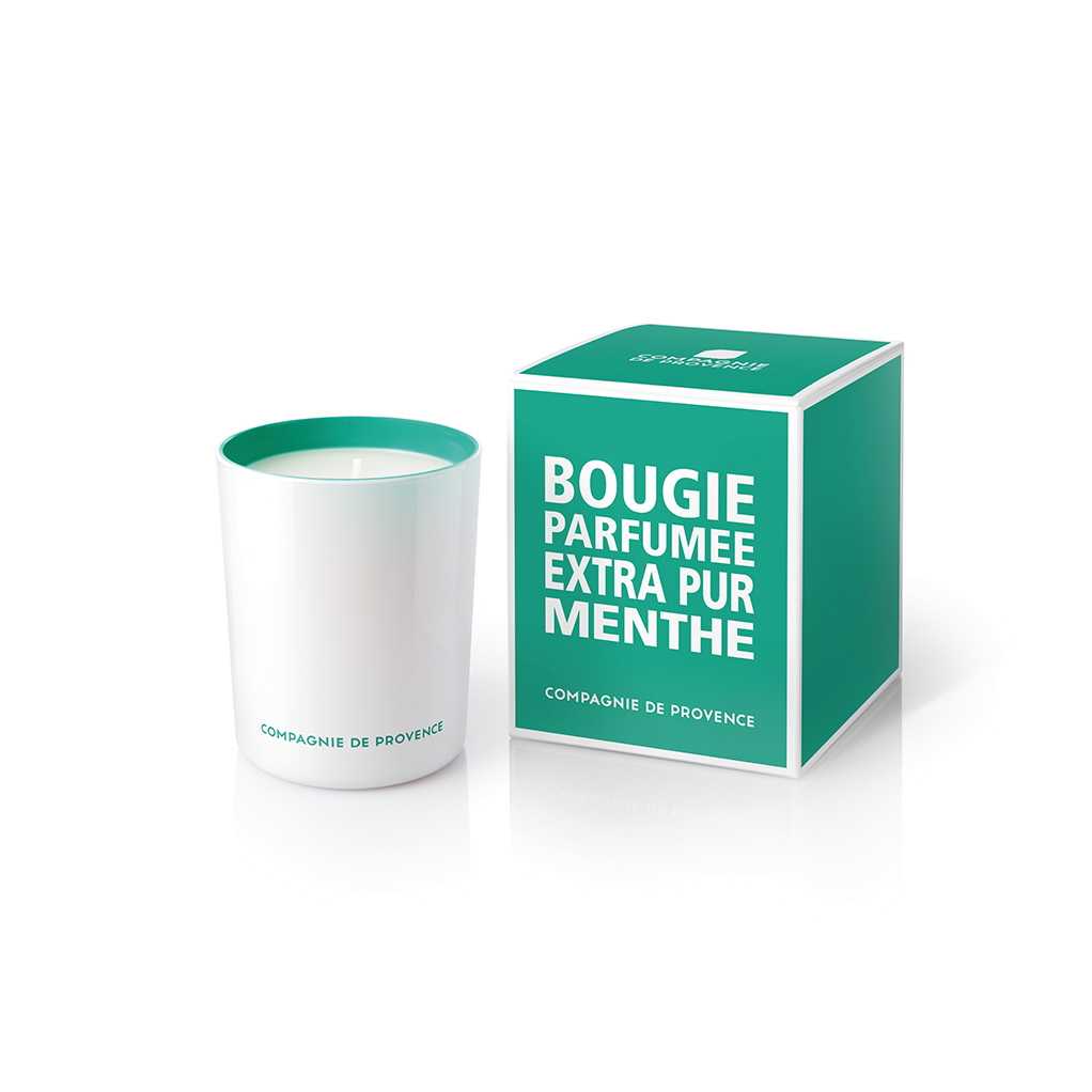 Compagnie De Provence Extra Pur Scented Candle Mint Tea