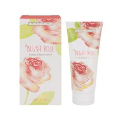 Heathcote & Ivory Blush Rose Luxury Hand & Nail Cream Tube