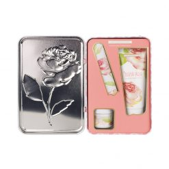 Heathcote & Ivory Blush Rose Manicure Collection in Decorative Tin