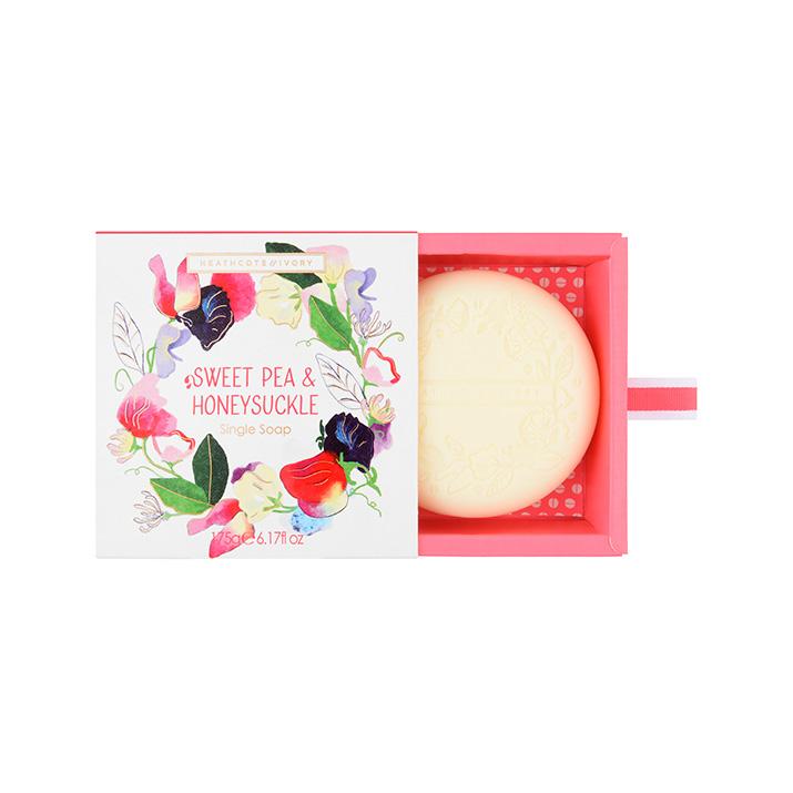 Sweet Pea & Honeysuckle Gift Soap