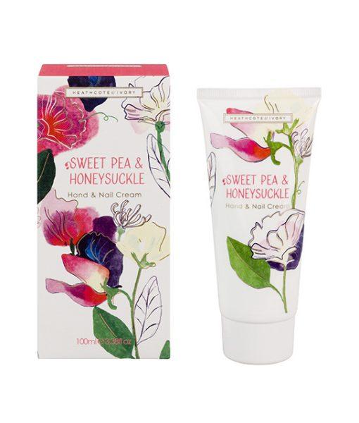 Sweet Pea & Honeysuckle Luxury Hand & Nail Cream Tube