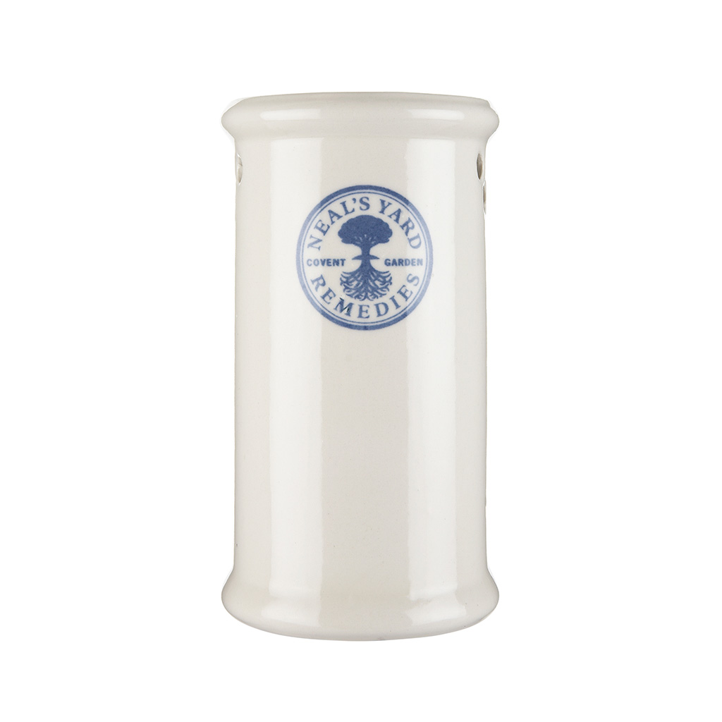 Burner Tall White China