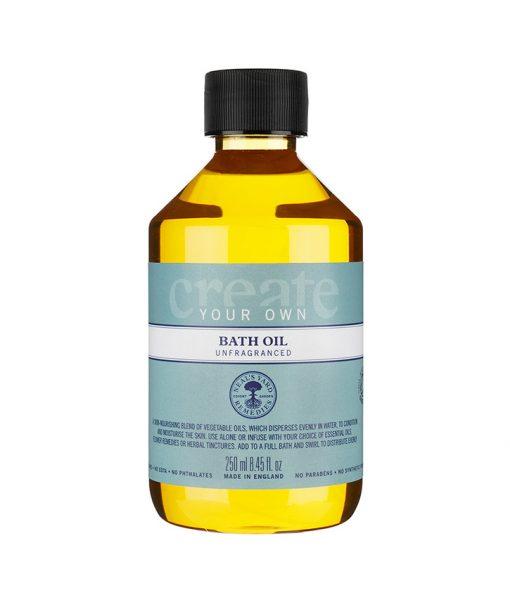 Create Your Own Hair and Bath Oil