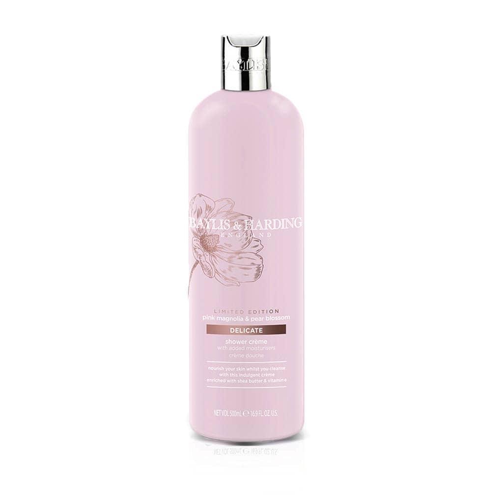 Pink Magnolia & Pear Blossom Shower Cream