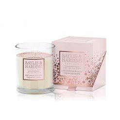 Baylis & Harding Pink Prosecco & Cassis Single Wick Candle