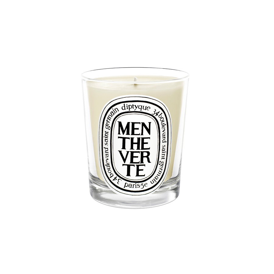 Diptyque Scented Candle Menthe Verte