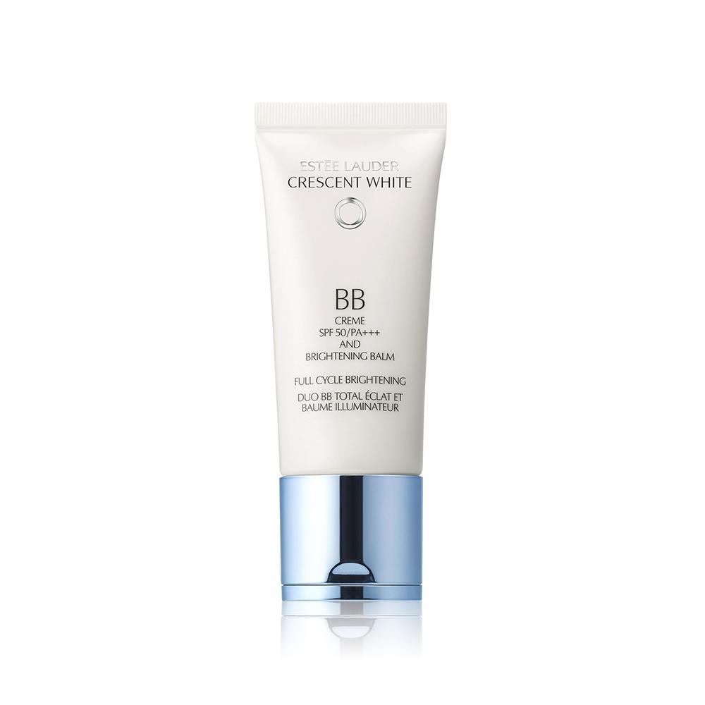 Estee Lauder Crescent White BB Crème SPF 50/PA++++ and Brightening Balm