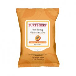 Burt's Bees Peach & Willowbark Facial Towelettes