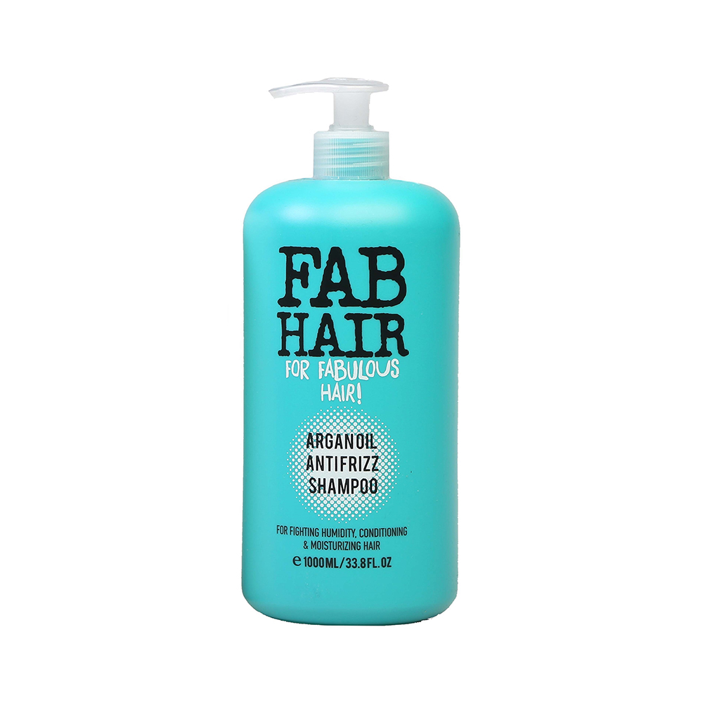 FAB Hair Argan Oil Anti Frizz Shampoo 1L