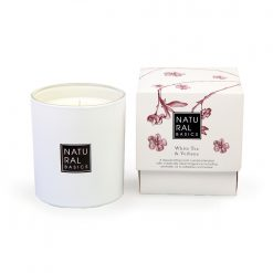 Elle Basic Natural Basics White Tea & Verbena Scented Candle 30cl