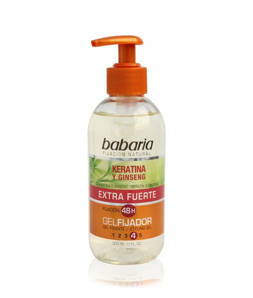 Babaria Keratin Styling Gel Extra Strong 300ml