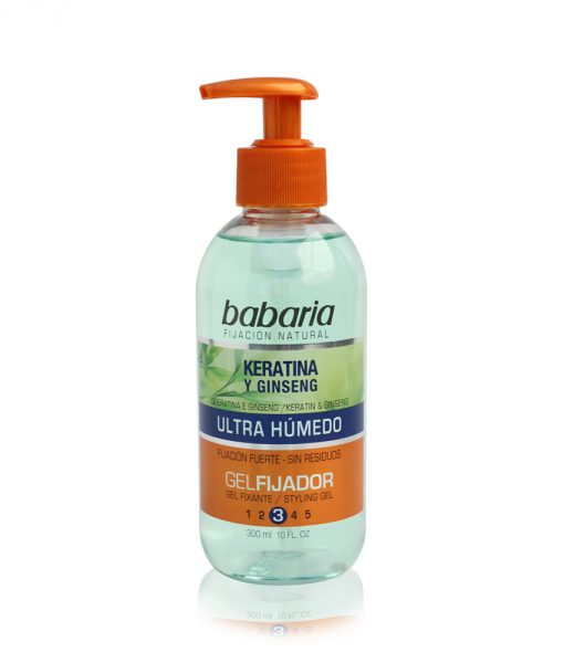 Babaria Keratin Styling Gel Ultra Wet Look 300ml